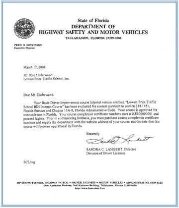 Dmv Approved Traffic School 100 Online Florida Texas