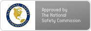 Approved by the National Safety Commission